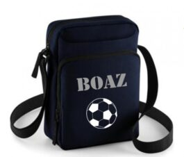 Mini body bag Navy met naam