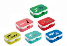 *Nieuw* Lunchbox / Brooddoos met naam (Mepal)