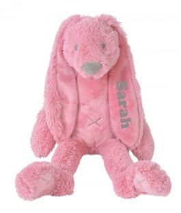 Rabbit Richie Deep Pink met naam Groot (Happy-Horse)
