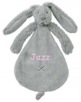 Rabbit Richie Grijs met naam Tuttle (Happy-Horse)