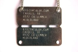 Dutch Army ID-Plaatje