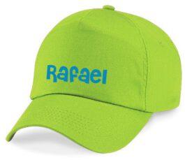 Cap met naam (Groen)