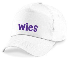 Cap met naam (Wit)