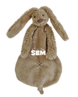 Rabbit Richie Clay met naam bruin Tuttle (Happy-Horse)