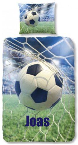 Dekbedovertrek Voetbal Goal met naam