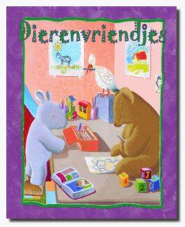 Dierenvriendjes (boek met naam)