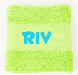 Handdoek Lime met naam