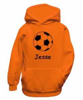 Hooded Sweater (Oranje)