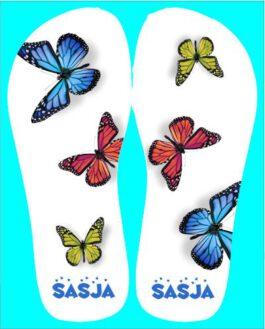 Slippers Vlinders