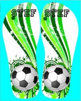 Slippers Voetbal