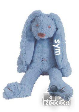 Tiny Rabbit Richie met naam deep blue (Happy-Horse)