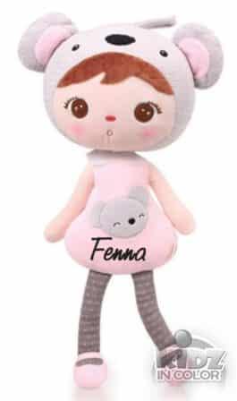 Pop met naam Koala (Metoo Doll)