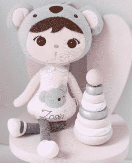 XL Pop met naam Koala (Metoo Doll) (70cm)