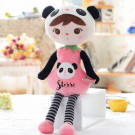 Pop met naam Panda (Metoo Doll)