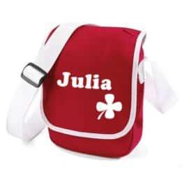 Mini Reporterbag (Rood-Wit)
