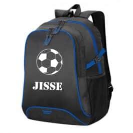 Basic Backpack Zwart/Blauw