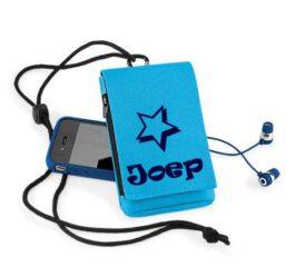 Telefoon Hoesje / Ipod Hoesje met naam Blauw