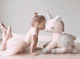 Unicorn XL Rose-Grijs