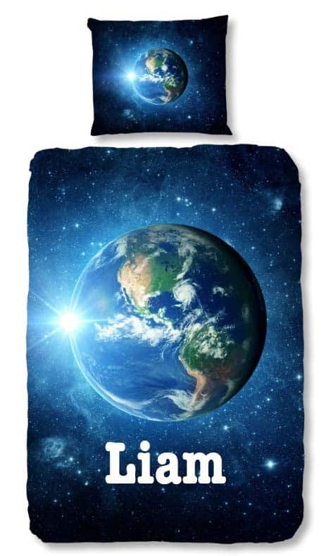 dekbedovertrek_earth_blue_met_naam