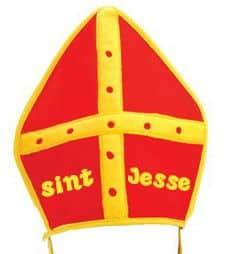 Sinterklaas mijter met naam