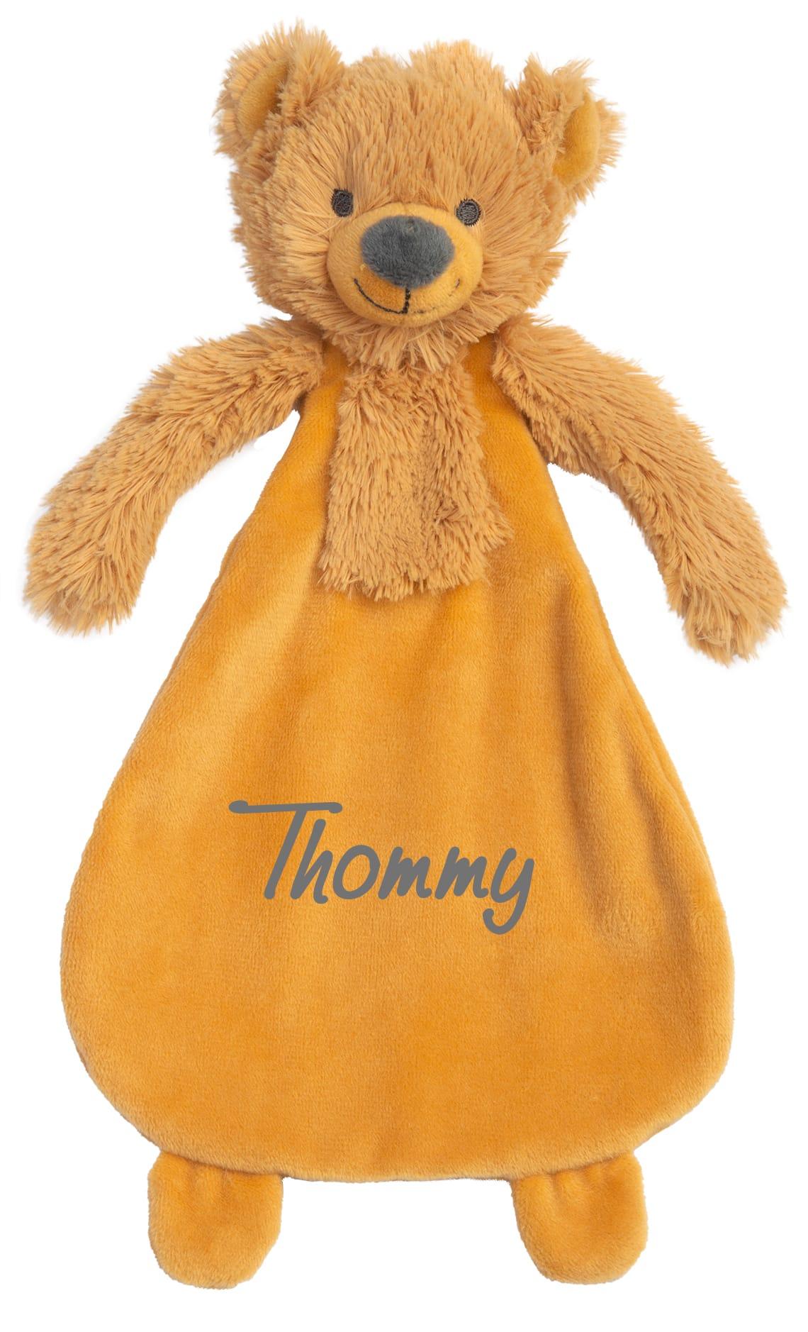 Bear Bradley Tuttle met naam