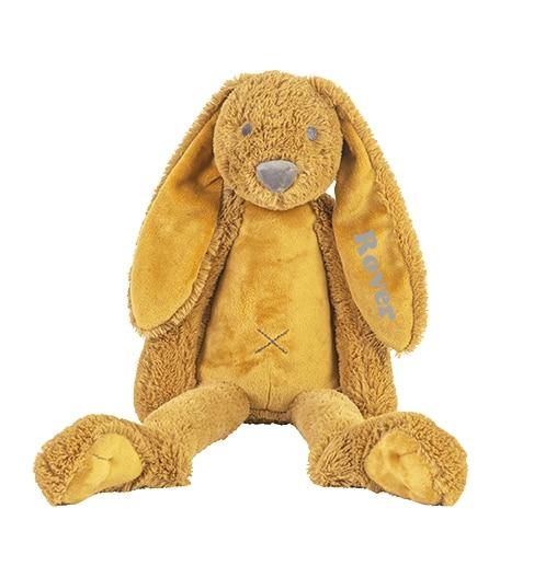 Rabbit Richie knuffel met naam Ochre (Happy-Horse) Groot