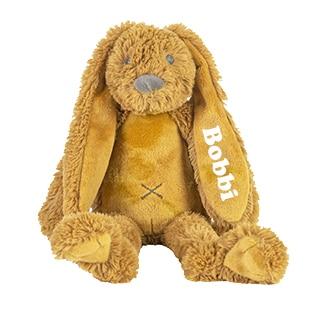 Tiny Rabbit Richie knuffel met naam Ochre (Happy-Horse)