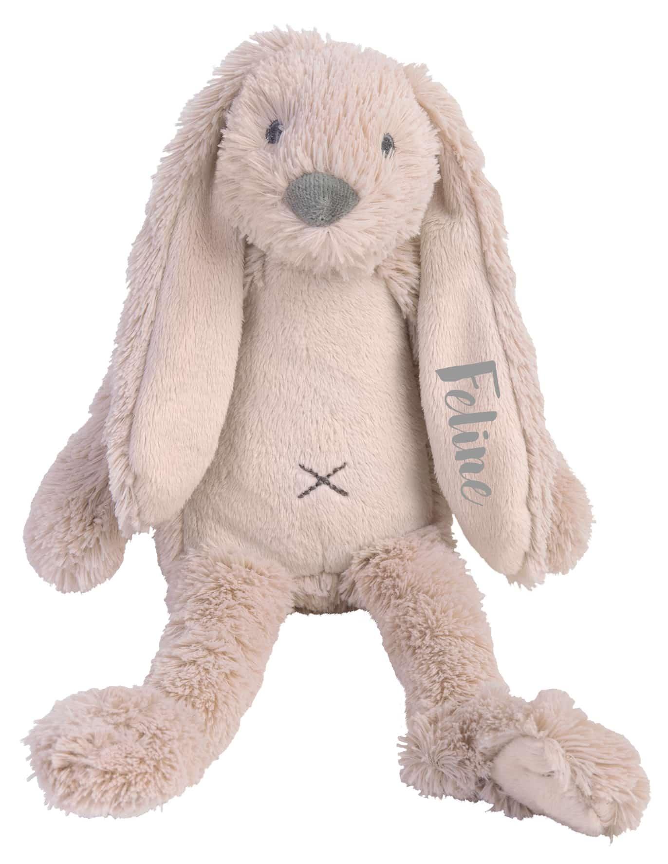 Tiny Rabbit Richie knuffel met naam OLD PINK (Happy-Horse)