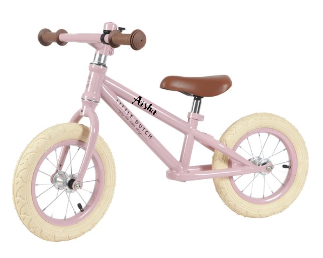 Little Dutch Loopfiets – Rose