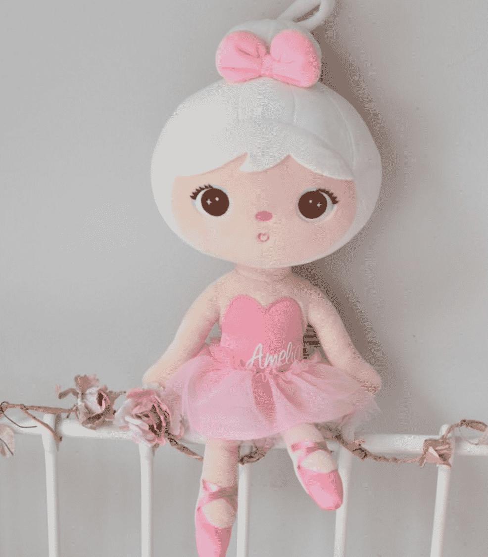 Pop Ballerina Rose met naam