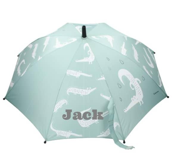 Paraplu Kidzroom Puddle met naam