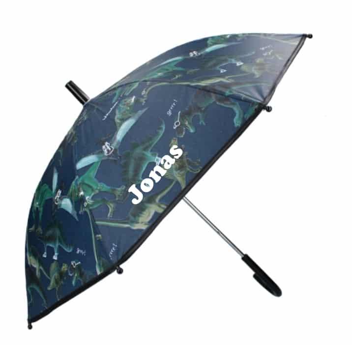 Paraplu Skooter Don't Worry About Rain met naam