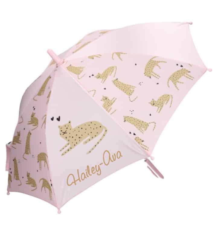 Paraplu Kidzroom Fearless & Cuddle met naam