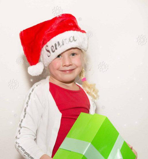 Kerstmuts deluxe met naam